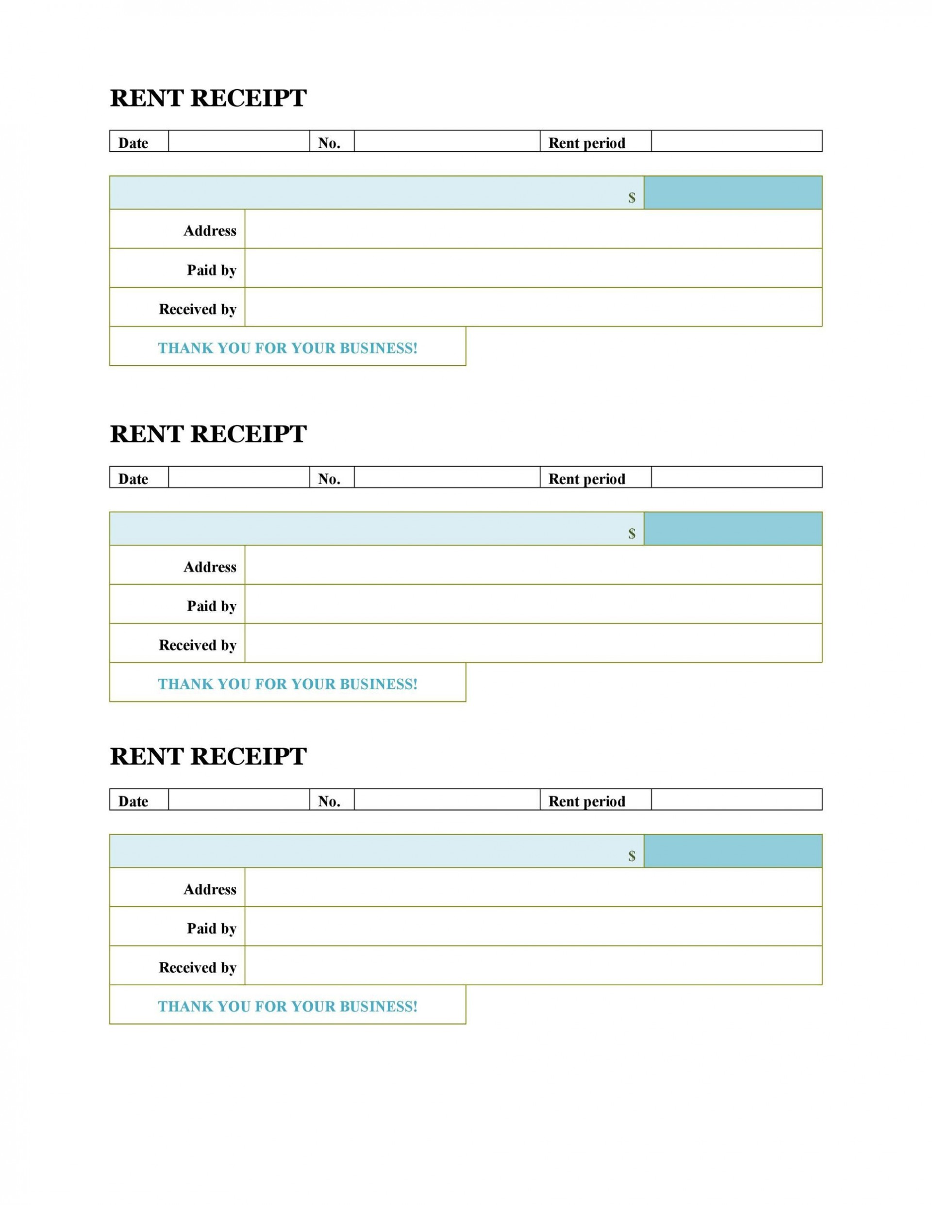 008 Unforgettable House Rent Receipt Template India Doc Sample  Format Download1920