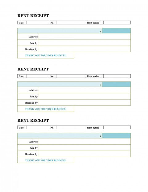008 Unforgettable House Rent Receipt Template India Doc Sample  Format Download480