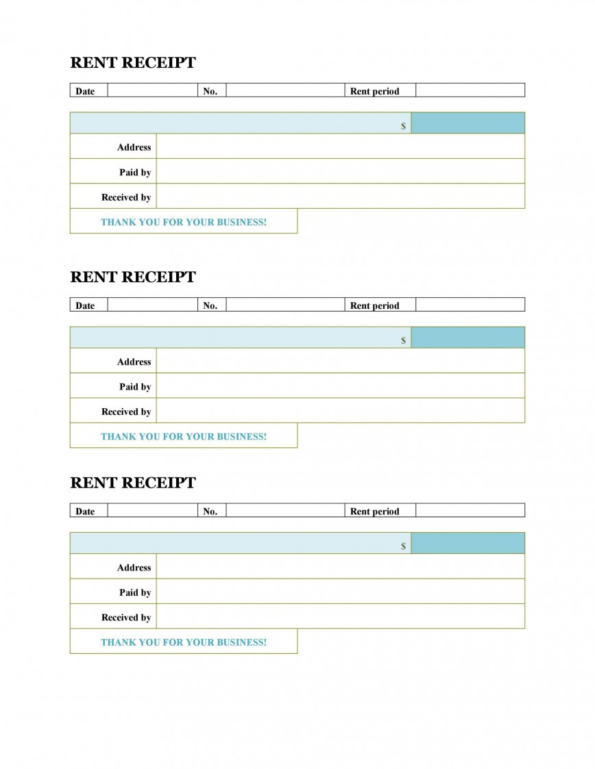 008 Unforgettable House Rent Receipt Template India Doc Sample  Format Download868