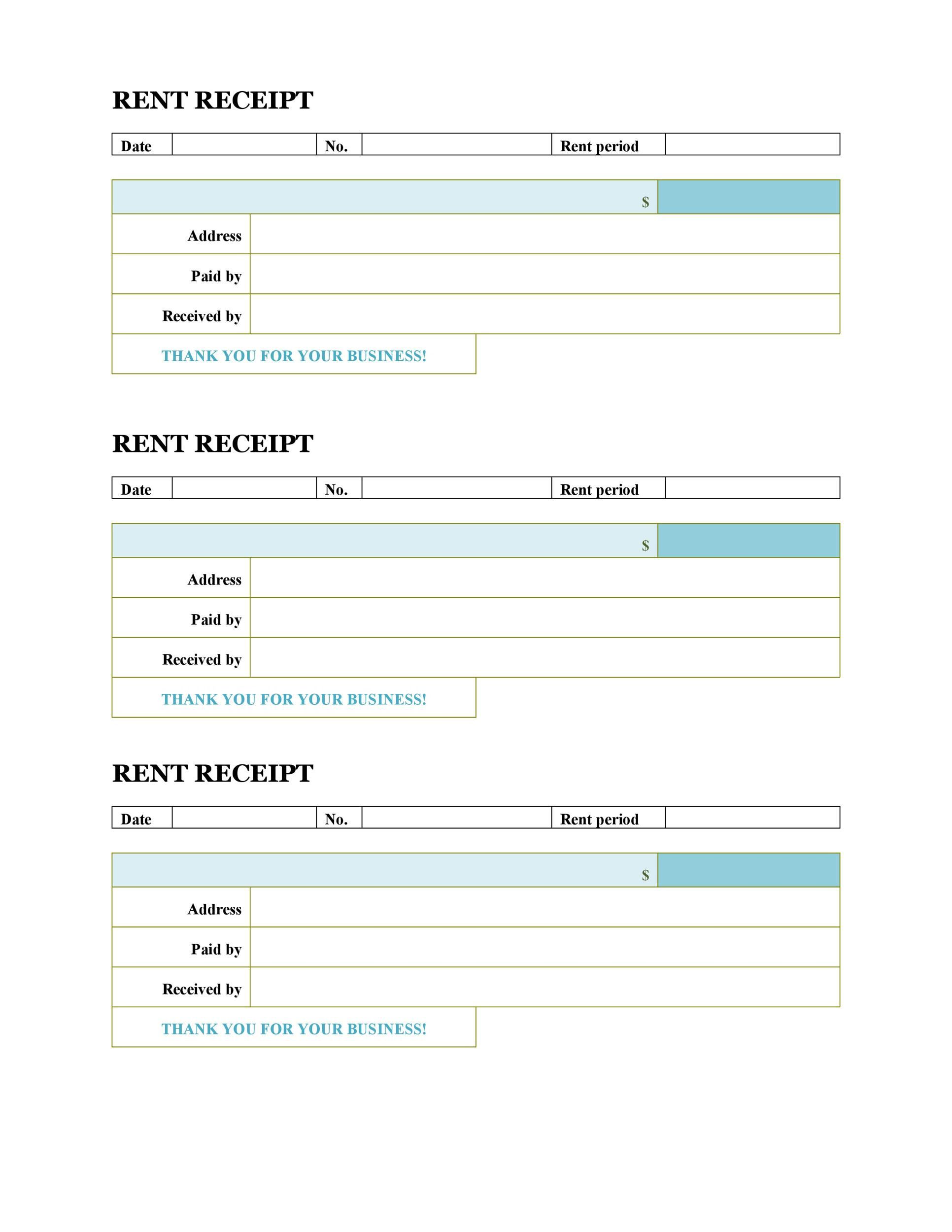 008 Unforgettable House Rent Receipt Template India Doc Sample  Format DownloadFull