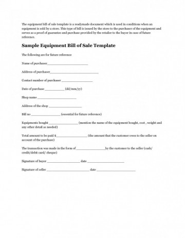 008 Unforgettable Microsoft Word Equipment Bill Of Sale Template Highest Clarity 360