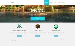 008 Unforgettable Minecraft Website Template Html Free Download High Definition