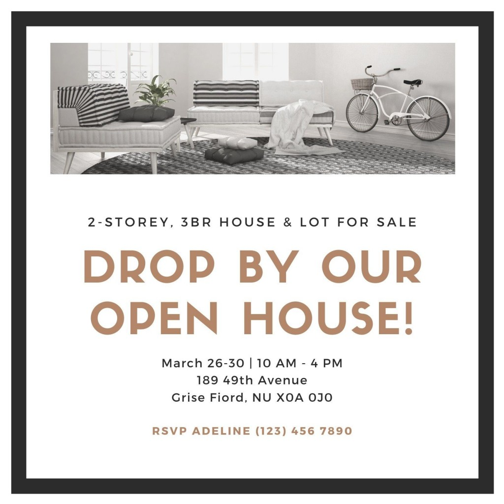 008 Unforgettable Open House Invitation Template Concept  Templates Free Printable BusinesLarge