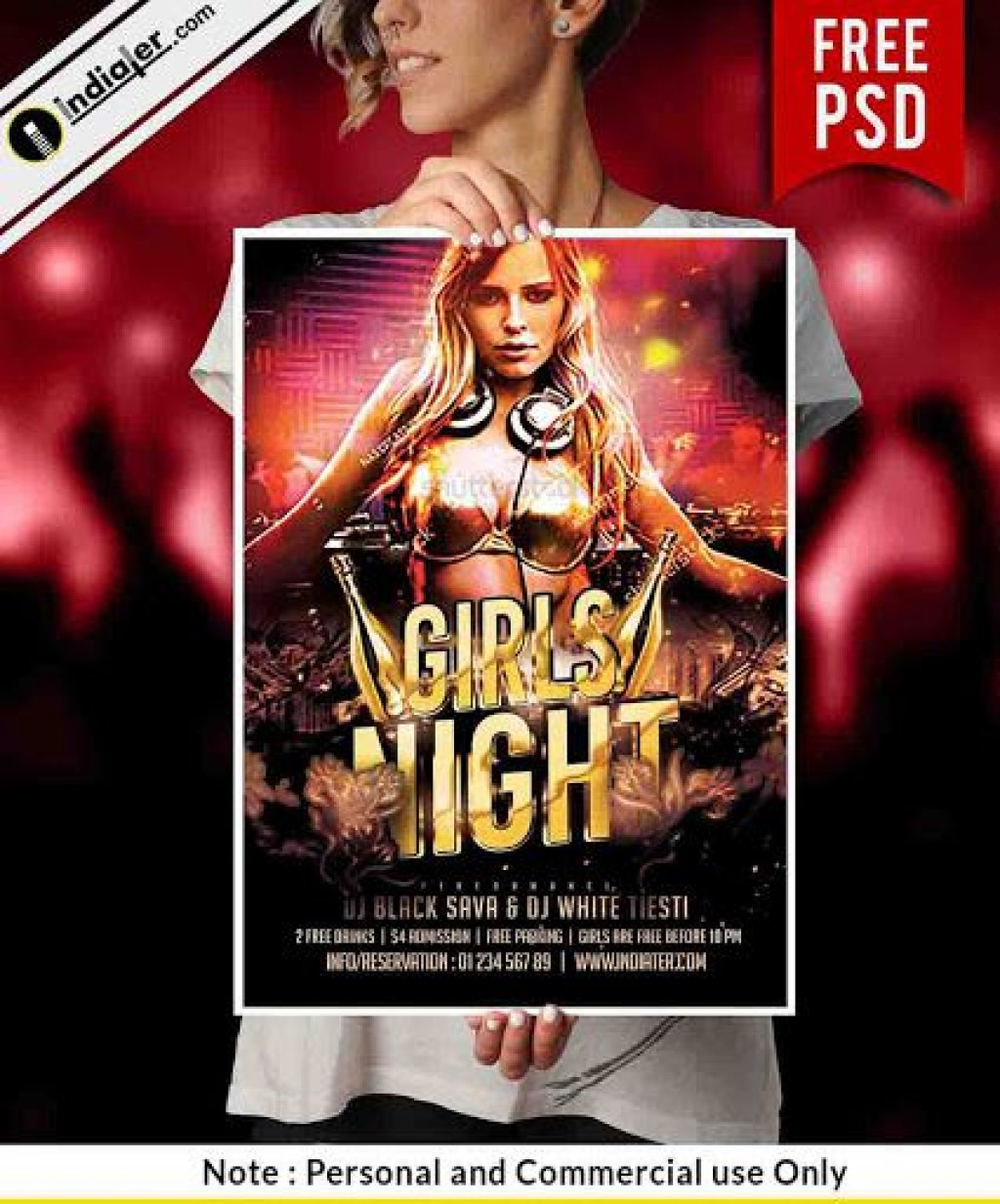 008 Unforgettable Party Flyer Template Free Inspiration  - Photoshop Holiday Christma For Microsoft WordLarge