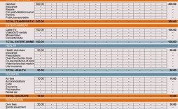 008 Unforgettable Personal Spending Excel Template High Definition  Best Budget Planner Free Finance