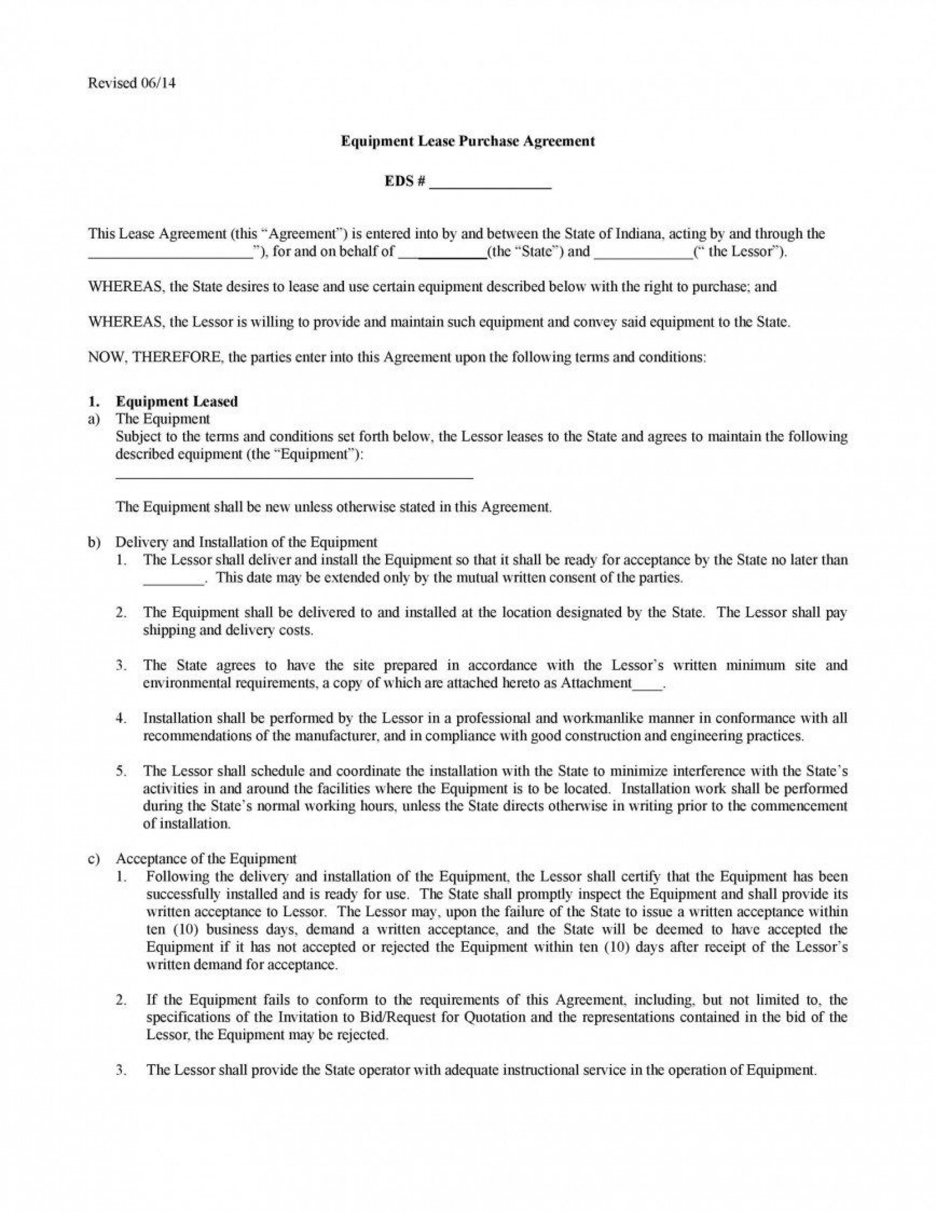 008 Unforgettable Rent To Own Contract Form Free High Definition  For House Pdf1920