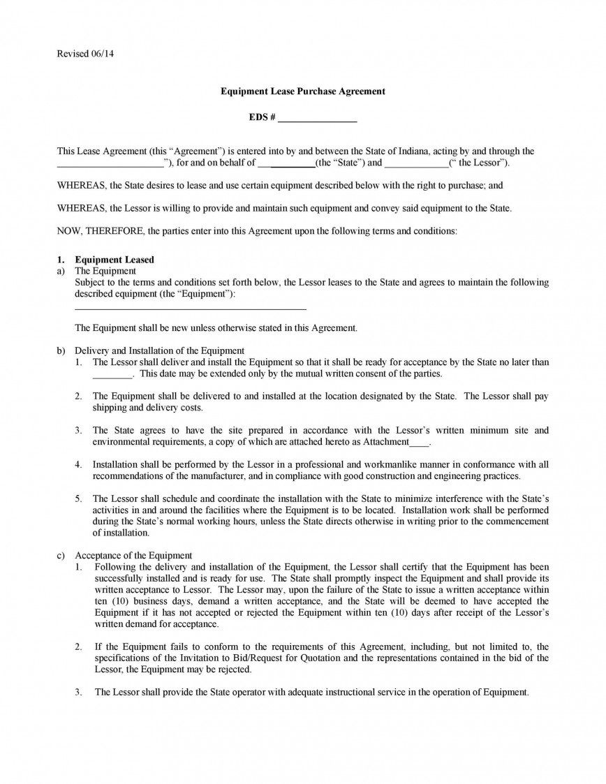 008 Unforgettable Rent To Own Contract Form Free High Definition  For House PdfFull