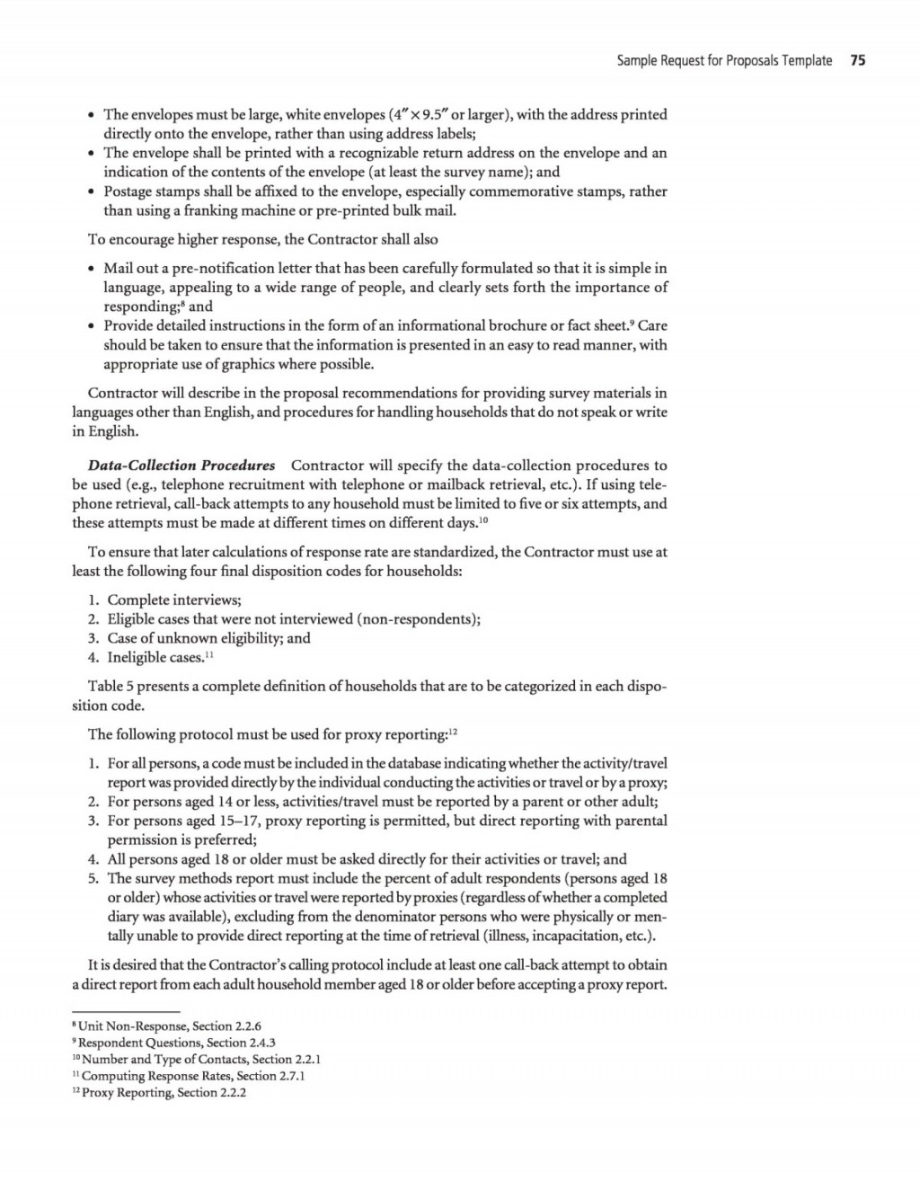 008 Unforgettable Request For Proposal Response Word Template Sample Large