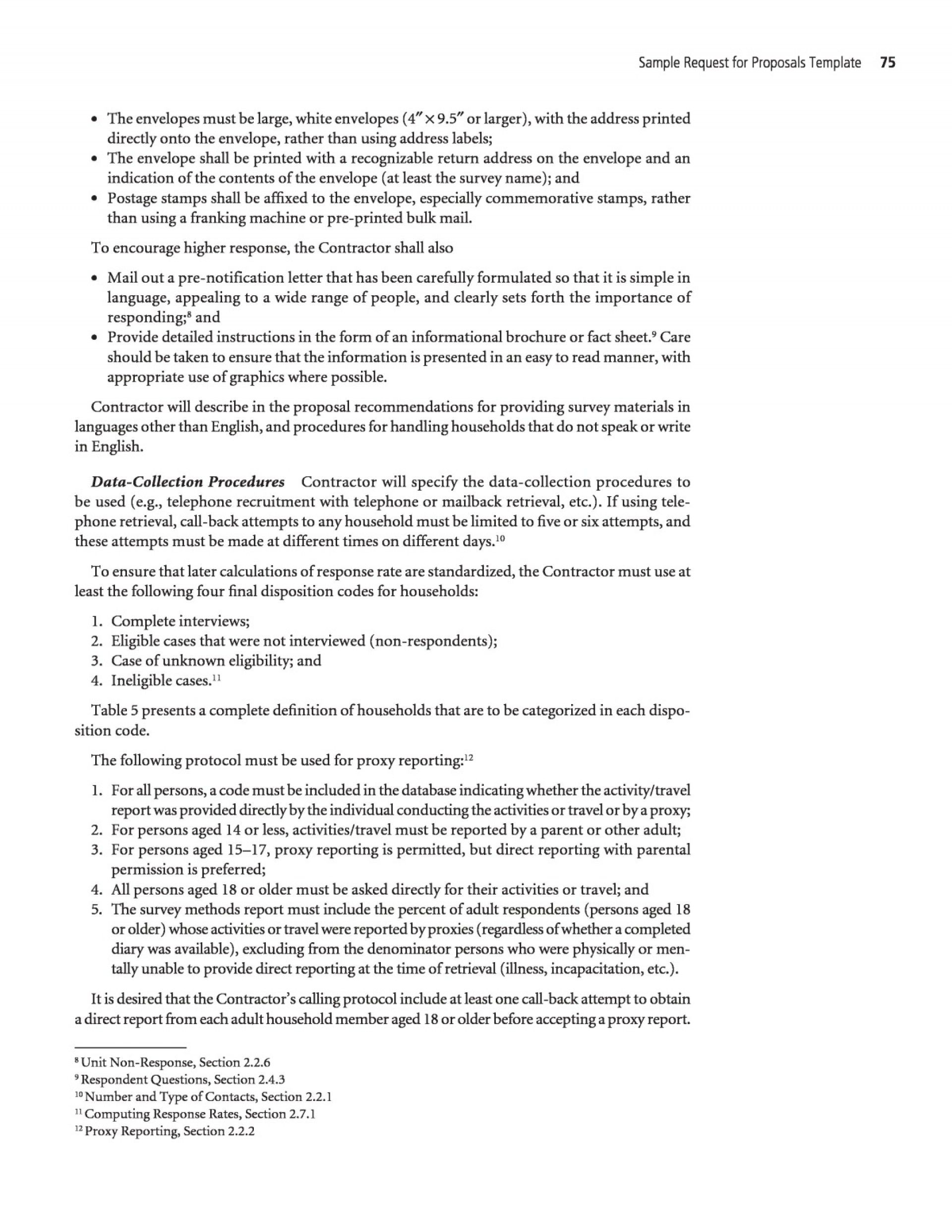 008 Unforgettable Request For Proposal Response Word Template Sample 1920