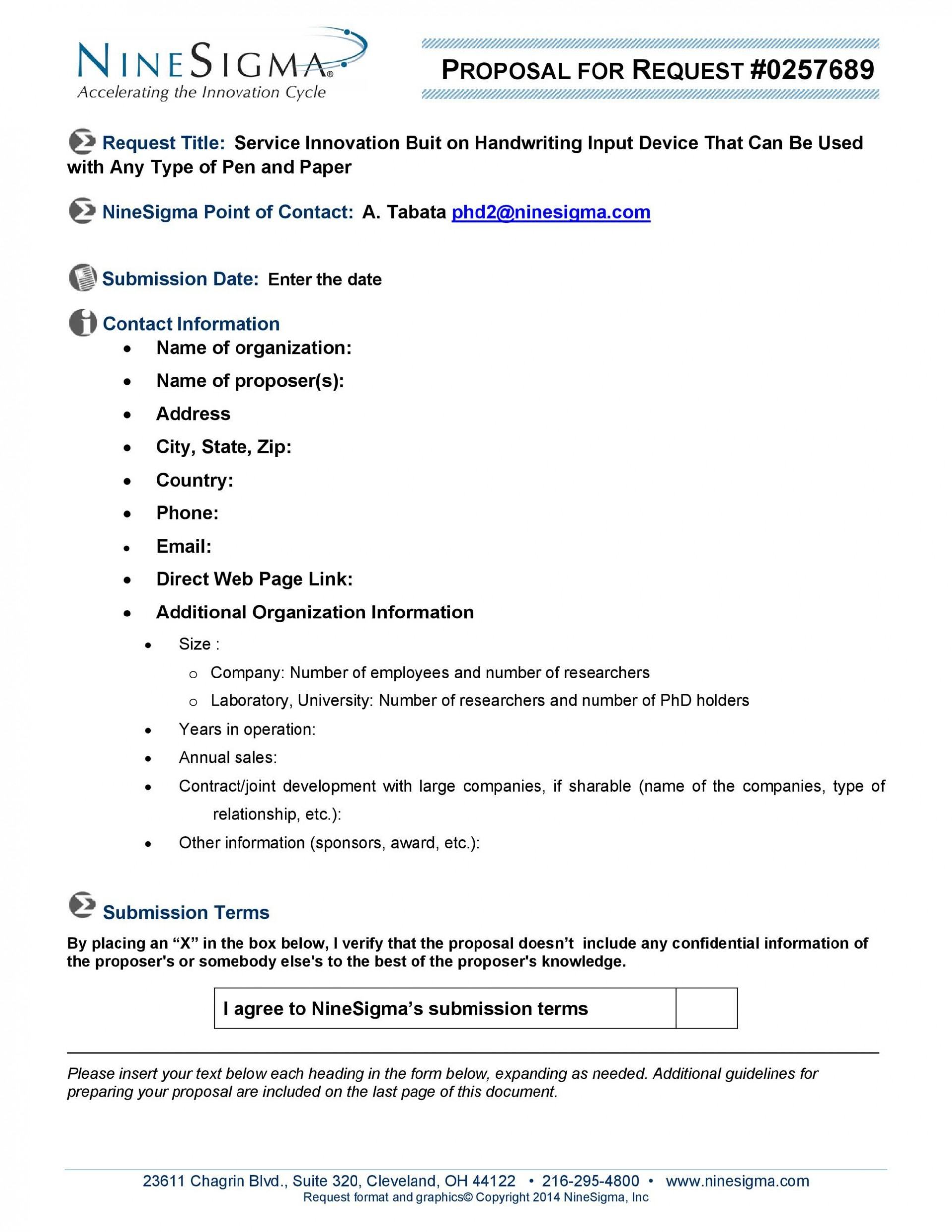 008 Unforgettable Request For Proposal Rfp Template Construction Highest Quality 1920