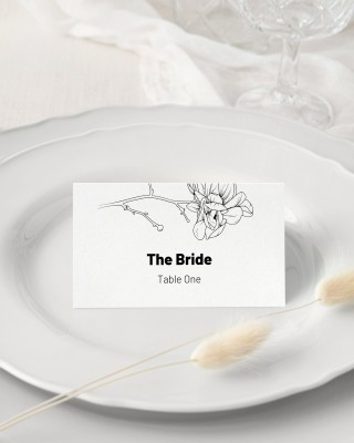 008 Unforgettable Wedding Name Card Template Picture  Free Download Design Sticker Format320
