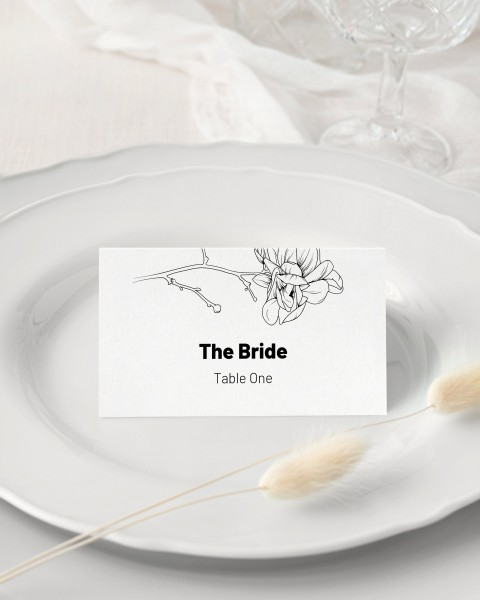 008 Unforgettable Wedding Name Card Template Picture  Free Download Design Sticker Format480
