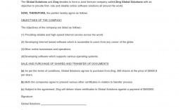 008 Unique Contractual Joint Venture Agreement Template Uk Idea