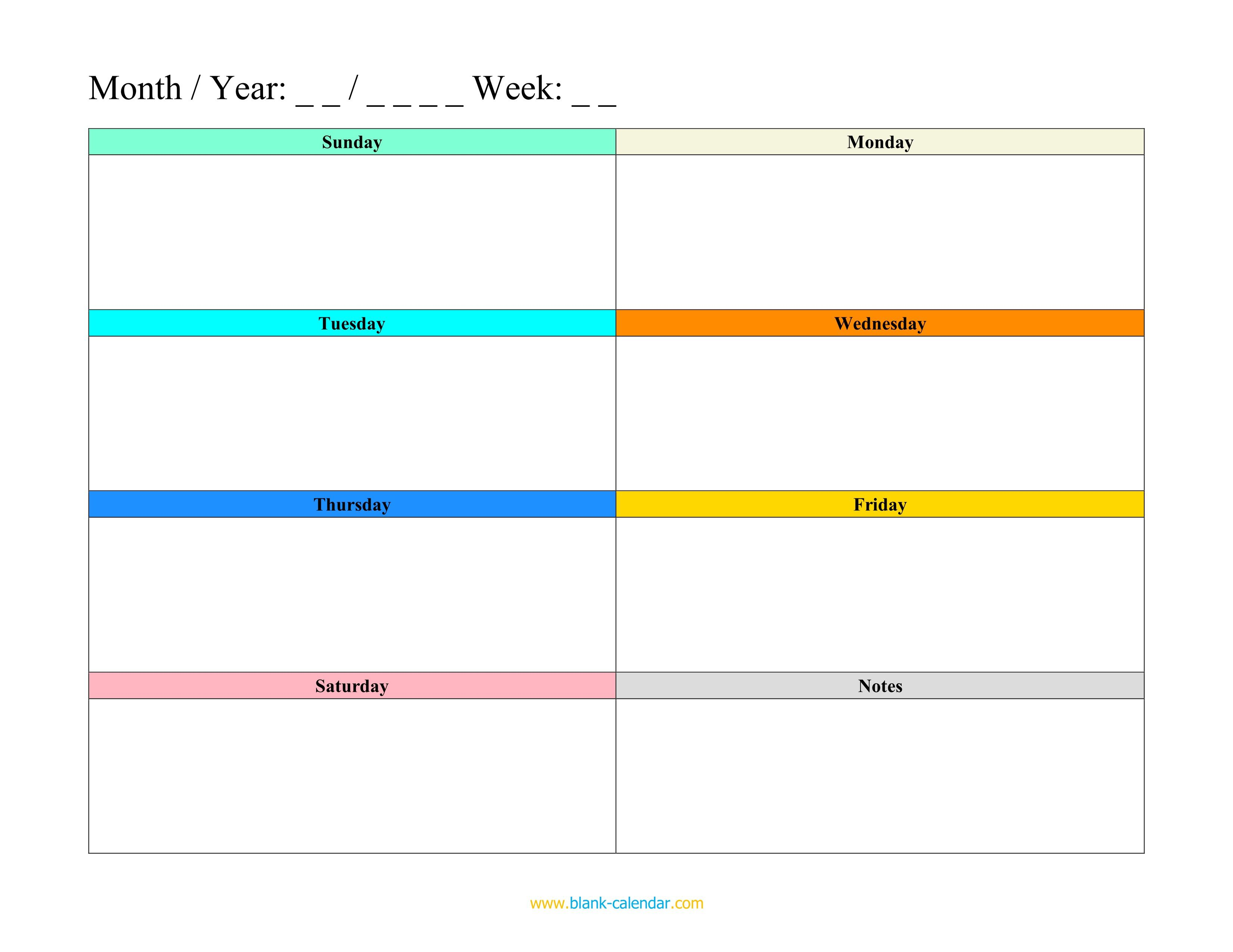 008 Unique Excel Weekly Timetable Template Highest Quality  Planner 2020 Meal 2019Full