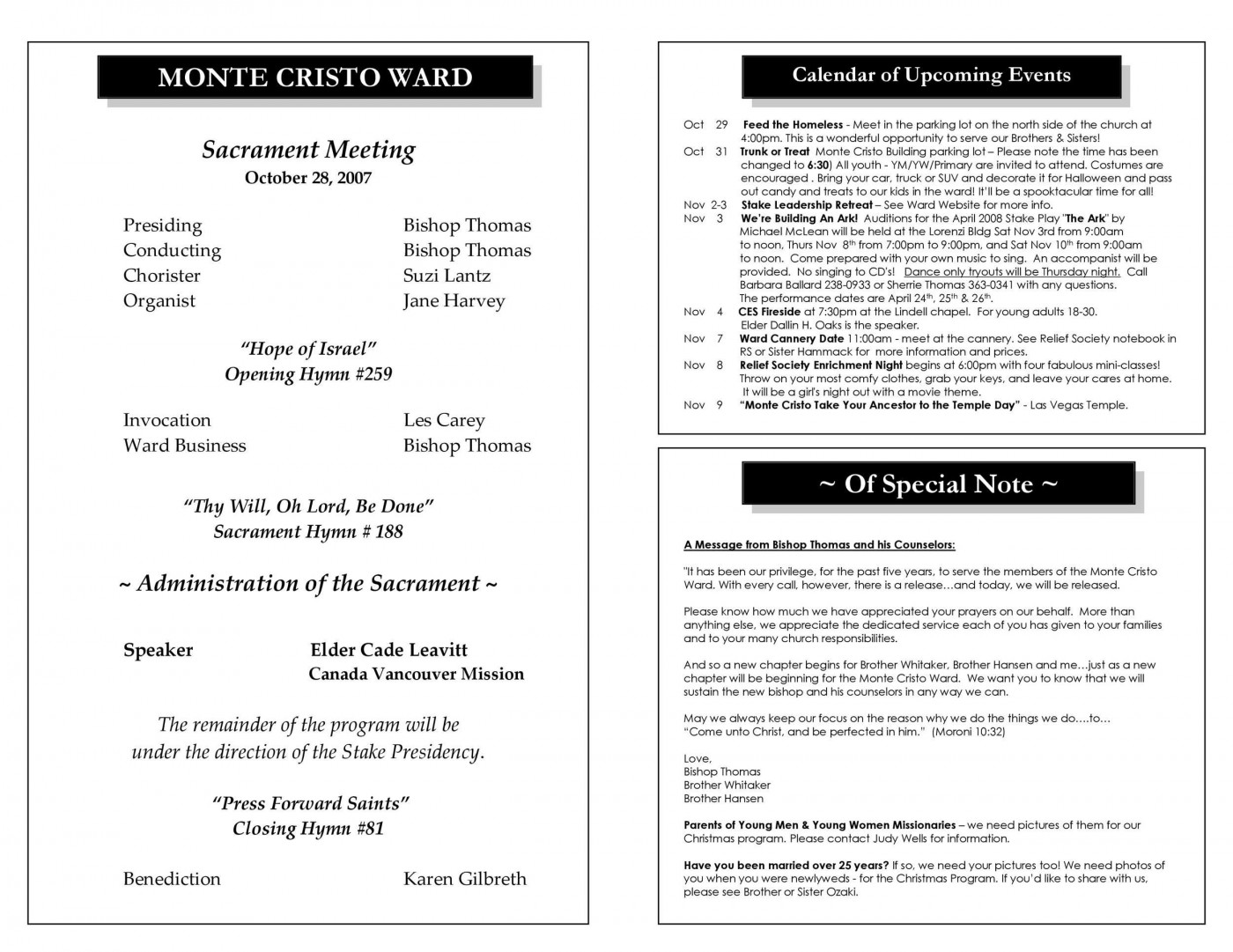 008 Unique Free Church Program Template Design Highest Quality 1400