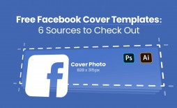 008 Unique Free Facebook Cover Template Example  Templates Photoshop