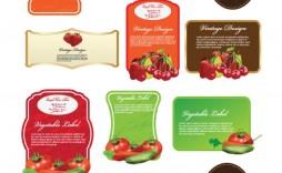 008 Unique Free Food Label Design Template Highest Quality  Templates Download