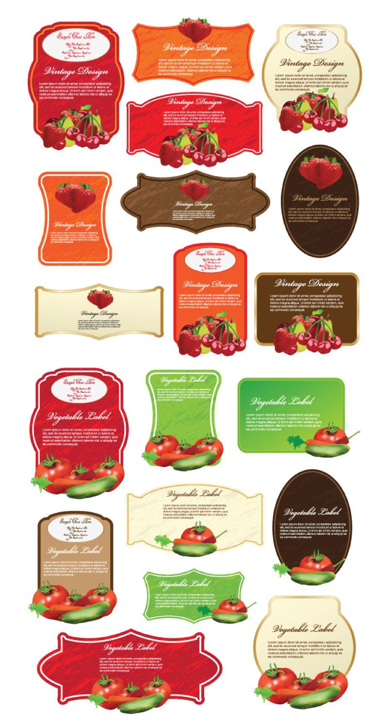 008 Unique Free Food Label Design Template Highest Quality  Templates DownloadFull