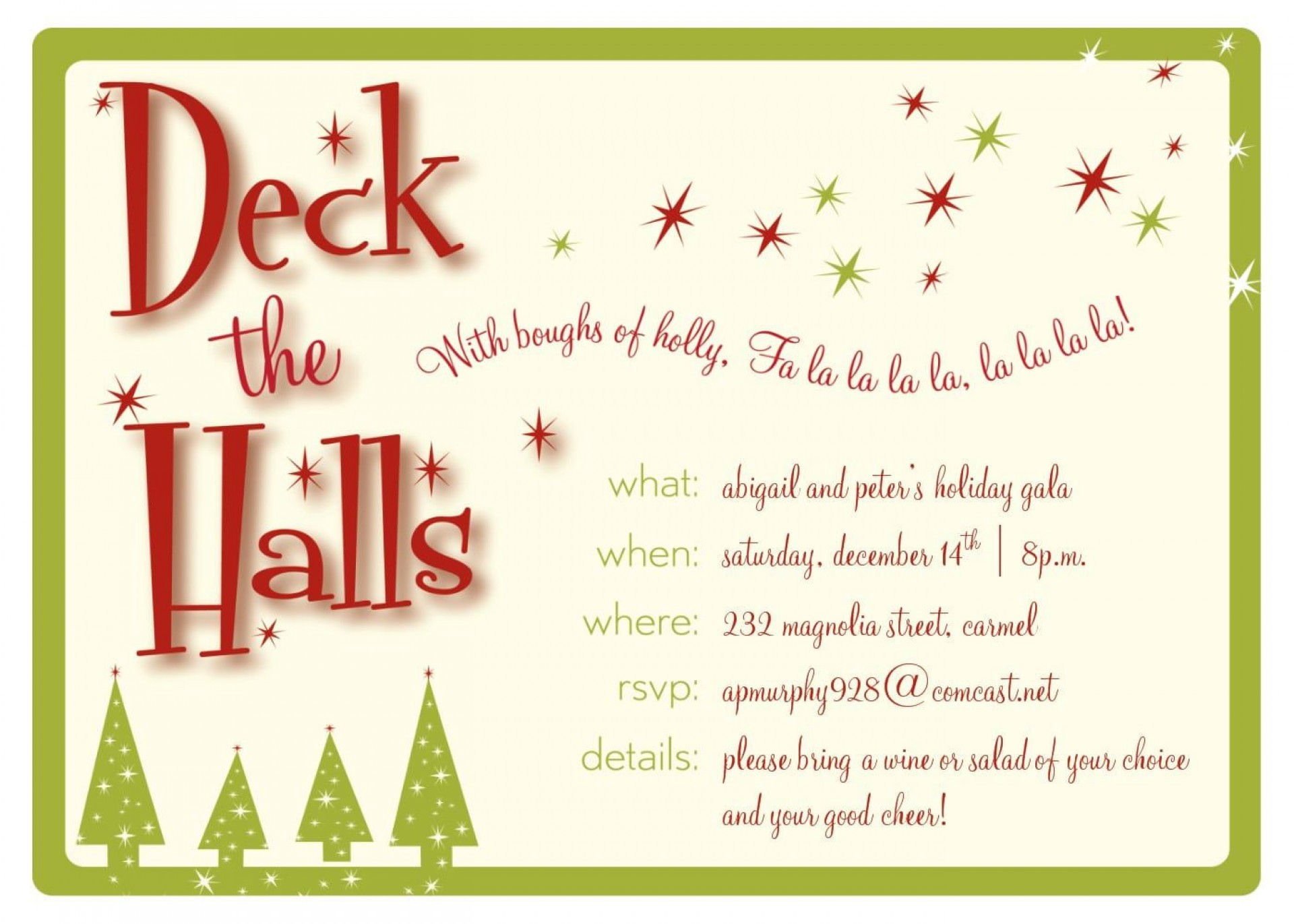 008 Unique Free Holiday Invite Template High Resolution  Templates Party Ticket For Email1920