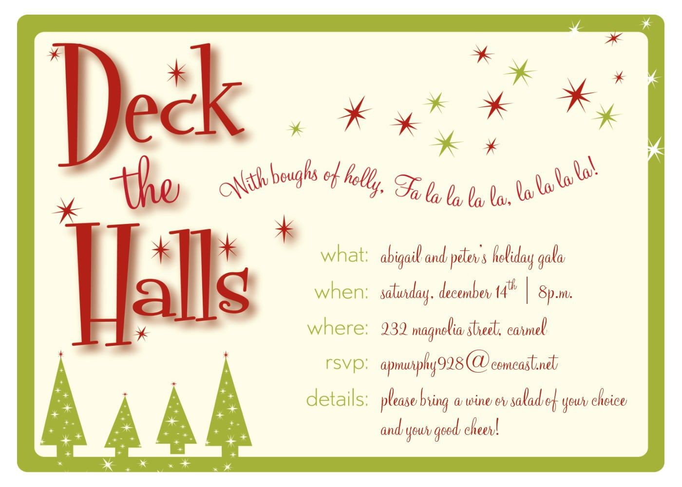 008 Unique Free Holiday Invite Template High Resolution  Templates Party Ticket For EmailFull