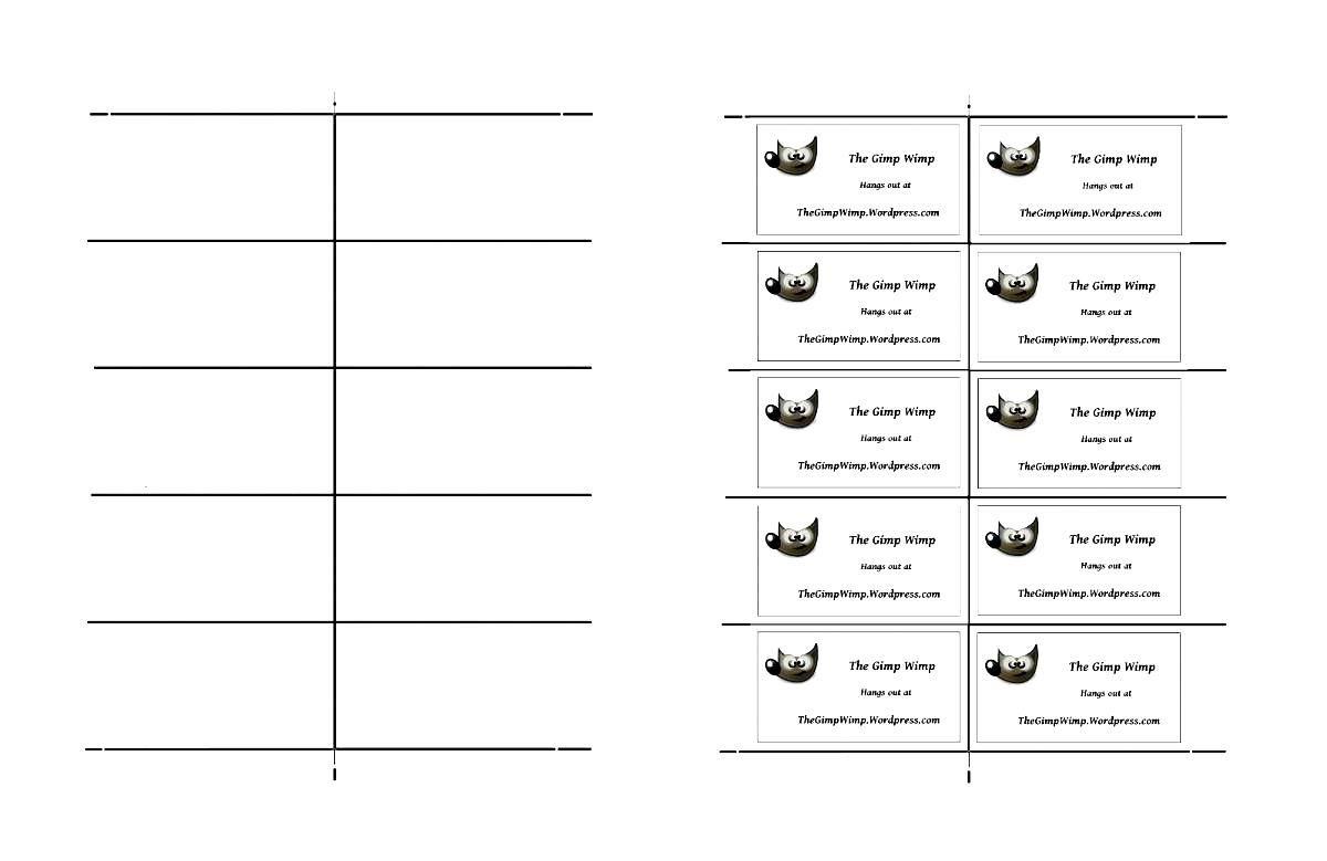 008 Unique Free Printable Busines Card Template Download Design Full