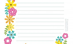 008 Unique Free Printable Stationery Paper Template Highest Clarity  Templates