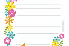 008 Unique Free Printable Stationery Paper Template Highest Clarity