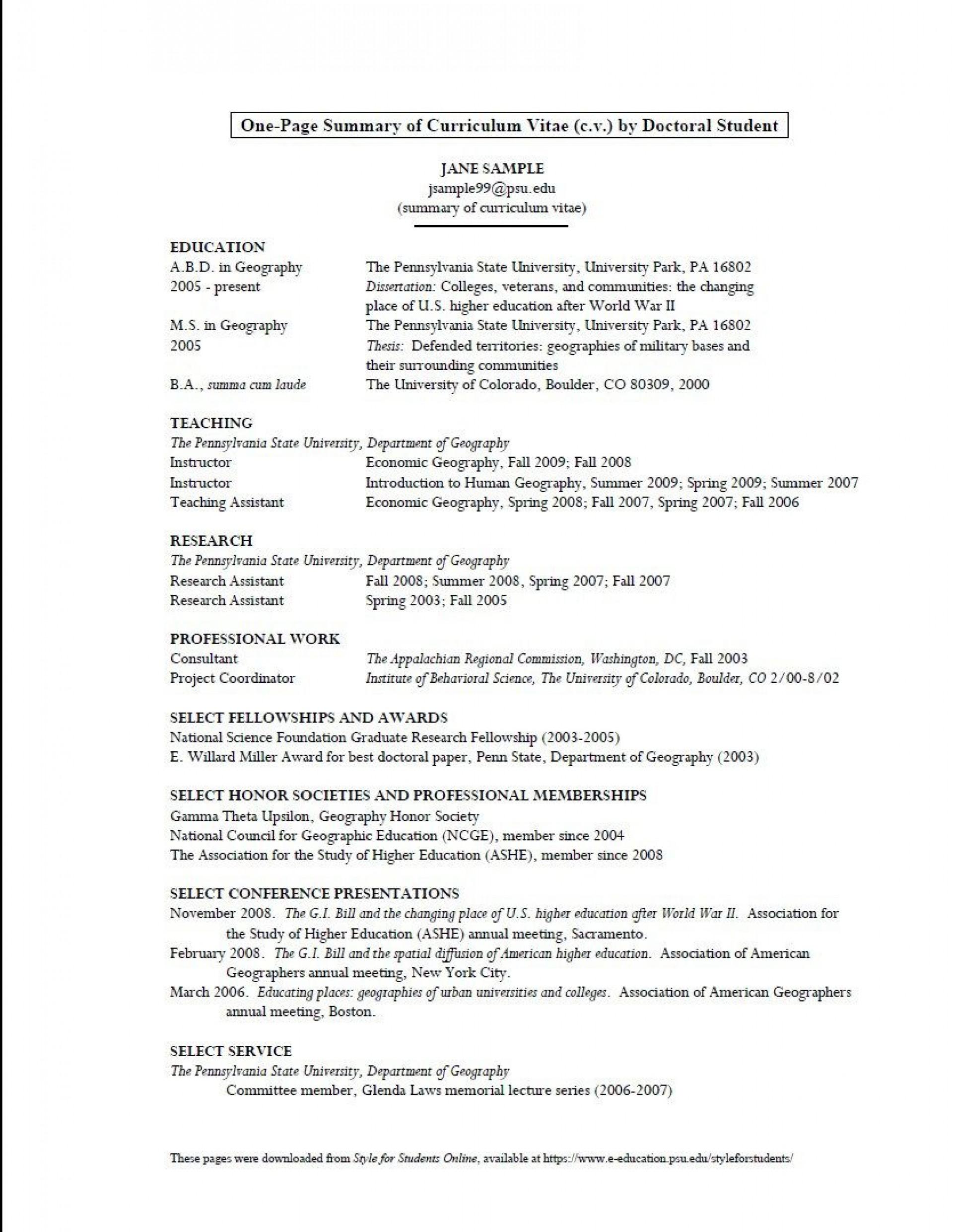 008 Unique Graduate School Curriculum Vitae Template Inspiration  For Application Resume Format1920
