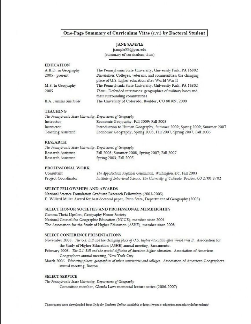 008 Unique Graduate School Curriculum Vitae Template Inspiration  Example For Applicant Resume Grad Application