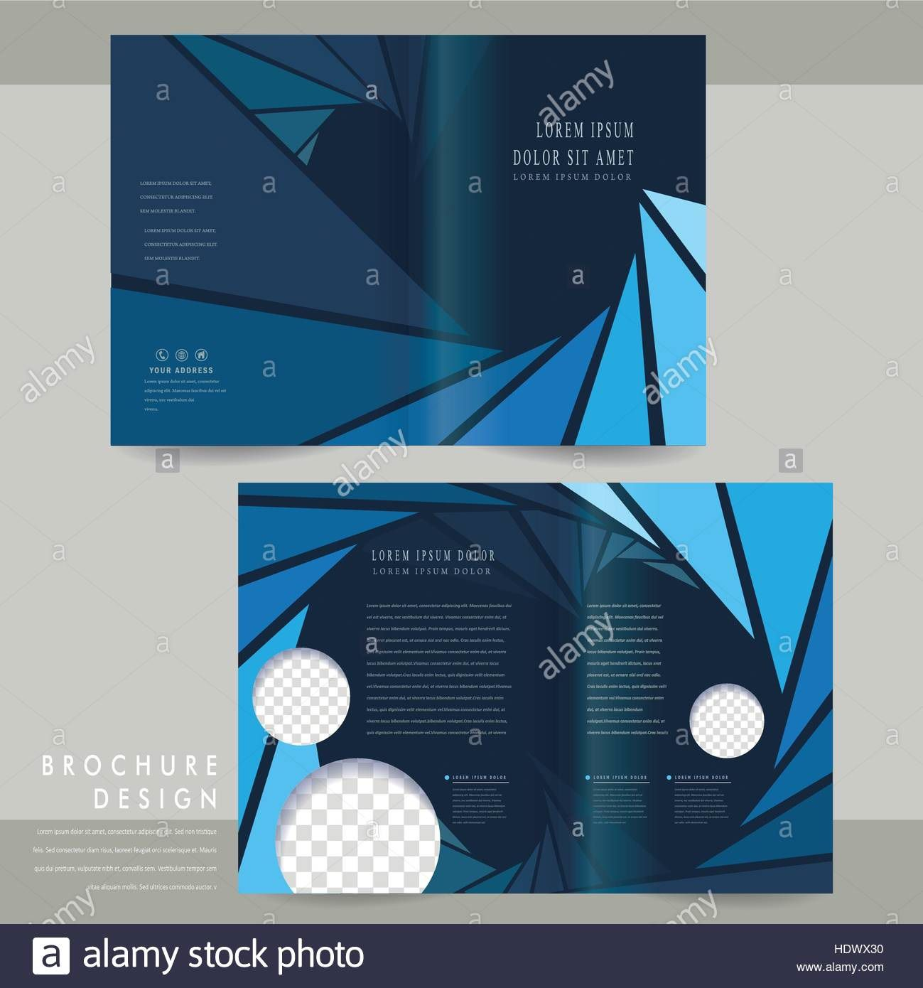 008 Unique Half Fold Brochure Template Picture  Free Microsoft Word IndesignFull