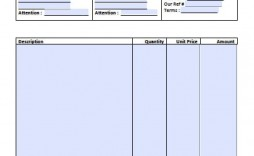 008 Unique Invoice Template Printable Free Word Doc Photo