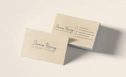 008 Unique Minimalist Busines Card Template Free Download Highest Quality