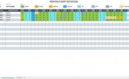 008 Unique Monthly Work Calendar Template Excel High Definition  Employee Schedule Free