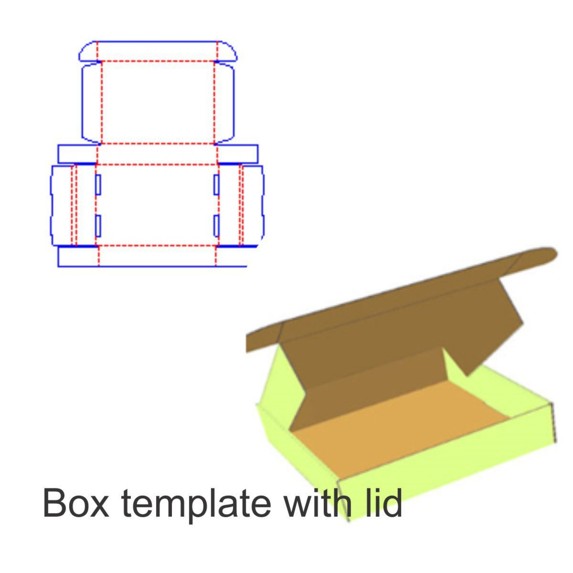 008 Unique Square Box Template Free Printable Example 1920