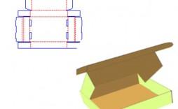 008 Unique Square Box Template Free Printable Example