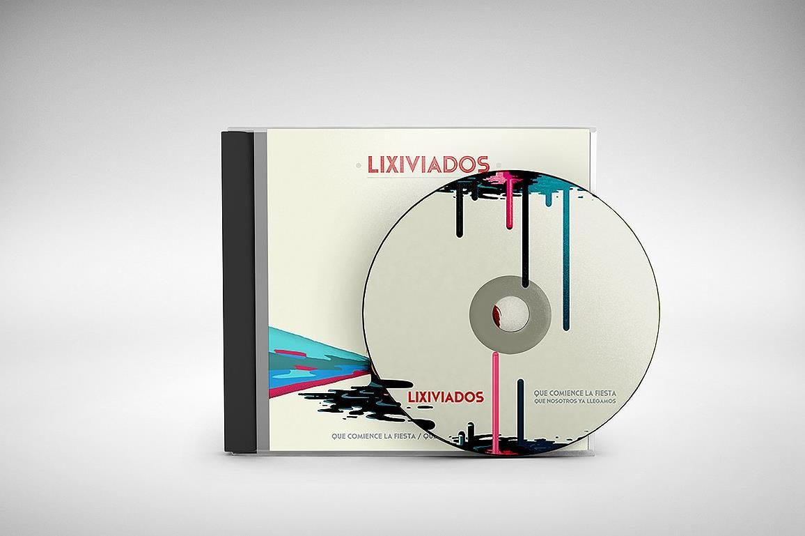 008 Unusual Cd Label Design Template Free Download Concept  Cover PsdFull