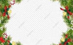 008 Unusual Christma Template Free Download Design  Word Editable Card Tree