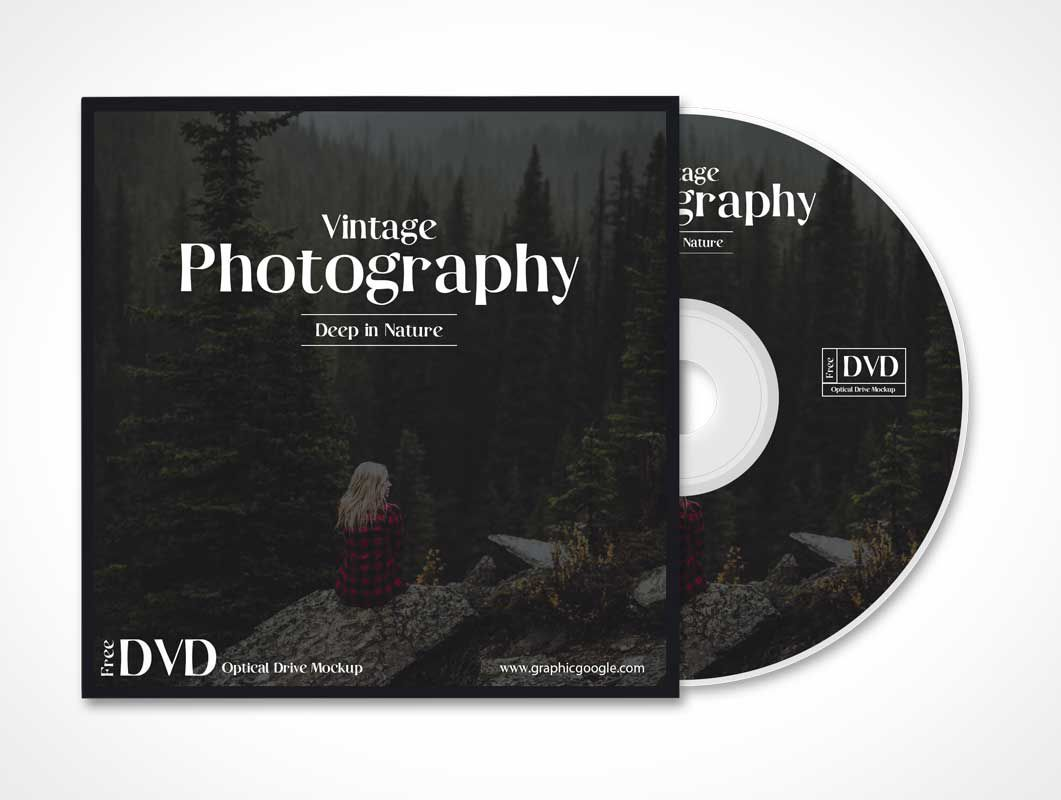 008 Unusual Free Cd Cover Design Template Photoshop Concept  Label Psd DownloadFull