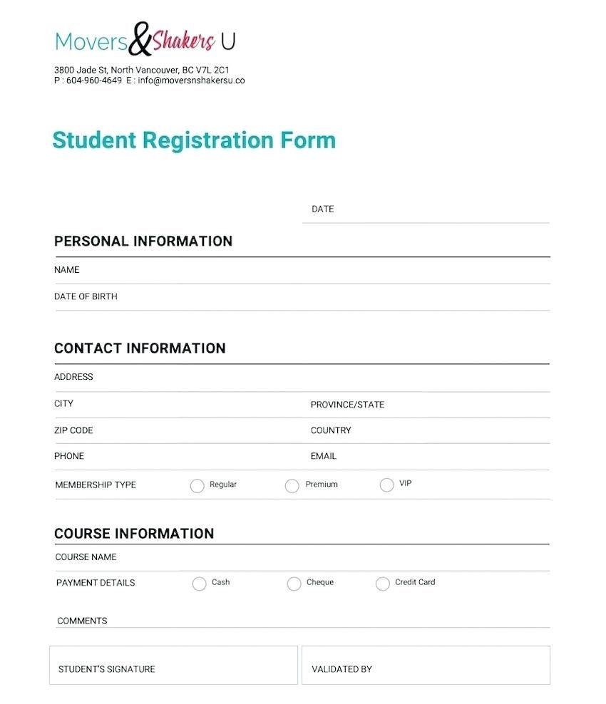 008 Unusual New Customer Account Setup Form Template Photo  Word ClientFull