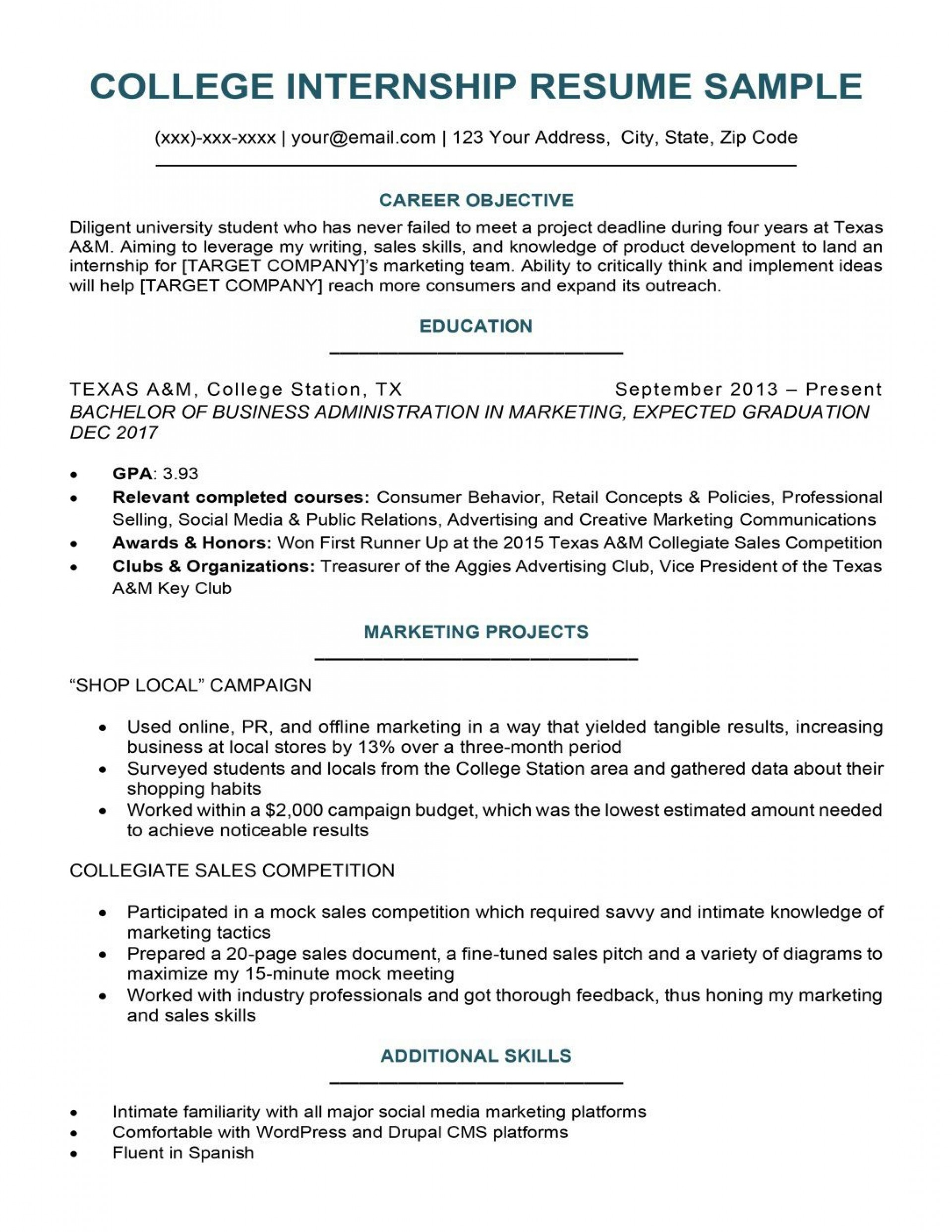 008 Unusual Resume Template For College Student Sample  Students Free Download Example With Little Work Experience1920
