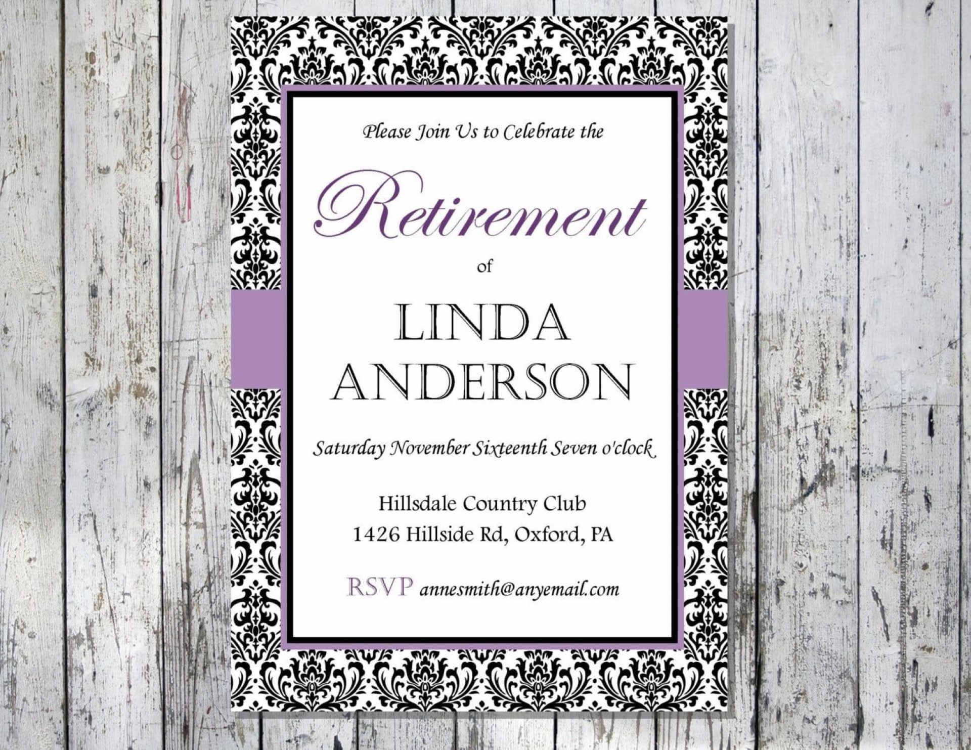 008 Unusual Retirement Party Invitation Template Free Printable High Def 1920