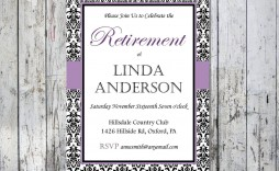 008 Unusual Retirement Party Invitation Template Free Printable High Def