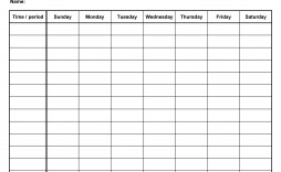 008 Unusual Weekly Schedule Template Word Inspiration  School Work Plan