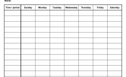 008 Unusual Weekly Schedule Template Word Inspiration  Work Microsoft Plan