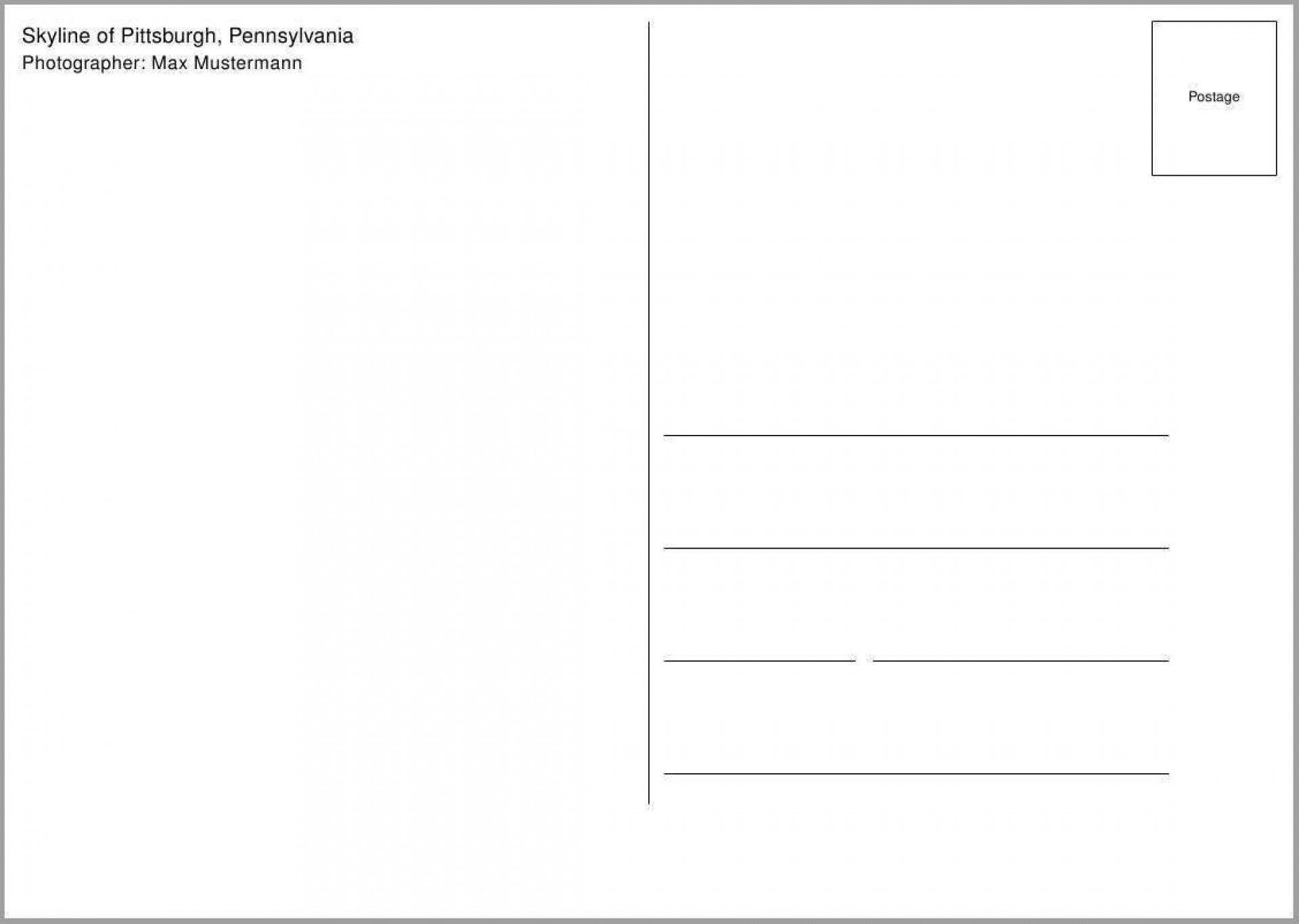 008 Wonderful 5 X 7 Postcard Template Microsoft Word Image Full