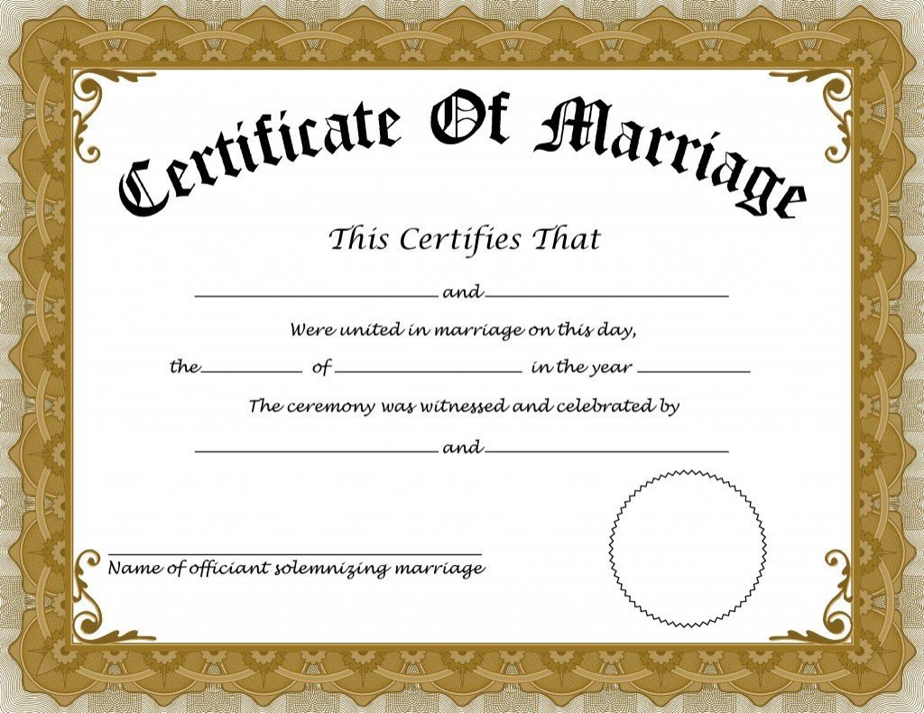 008 Wonderful Certificate Of Marriage Template High Definition  Word AustraliaLarge