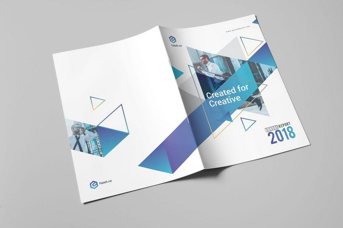 008 Wonderful Free Adobe Indesign Annual Report Template High Resolution Full