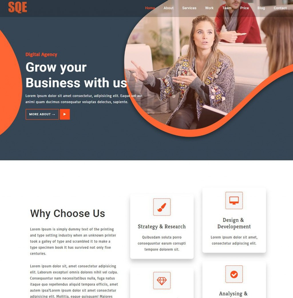 008 Wonderful Free Busines Website Template Inspiration  Templates Wordpres For Small Dreamweaver Download Html5 With Css3 JqueryLarge