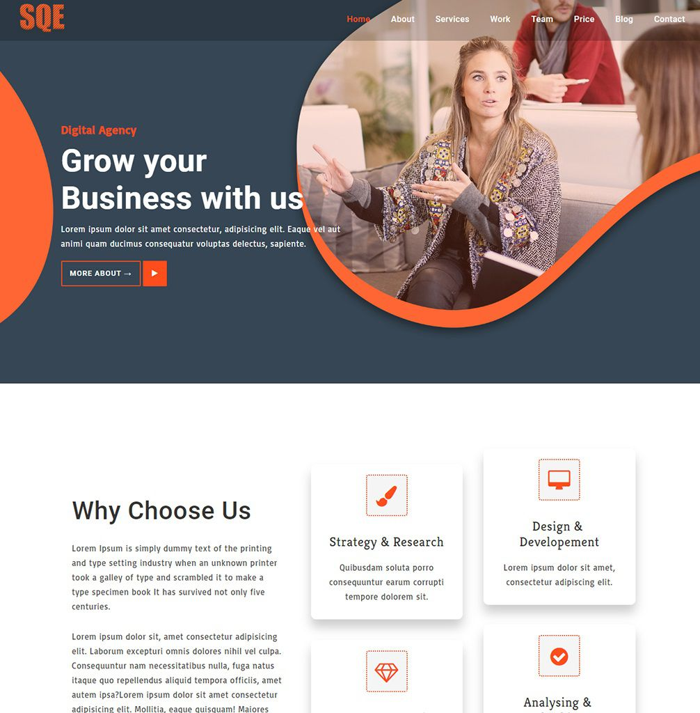 008 Wonderful Free Busines Website Template Inspiration  Templates Wordpres For Small Dreamweaver Download Html5 With Css3 JqueryFull