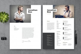 008 Wonderful How To Create A Resume Template In Photoshop Highest Quality